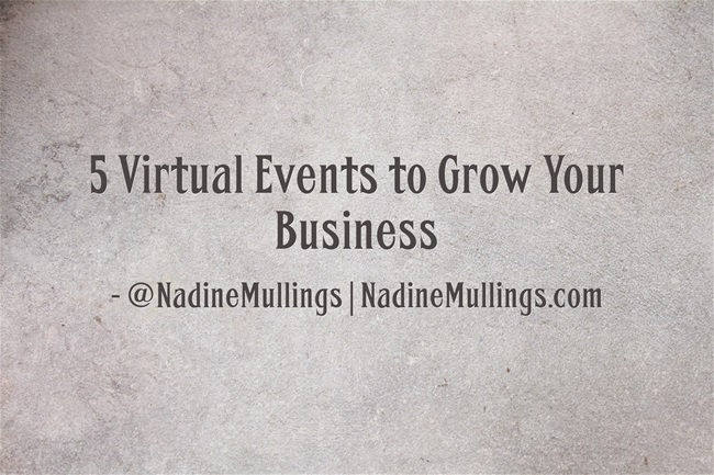 5 Virtual Events to Grow Your Business