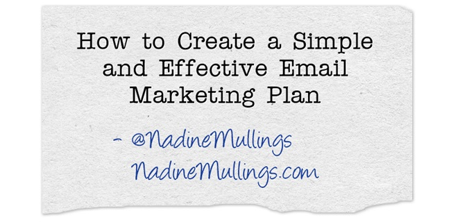 How to Create a Simple and Effective Email Marketing Plan