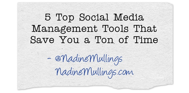 5 Top Social Media Management Tools That Save You a Ton of Time