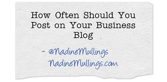 How Often Should You Post on Your Business Blog