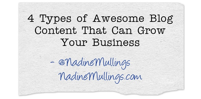 4 Types of Awesome Blog Content That Can Grow Your Business