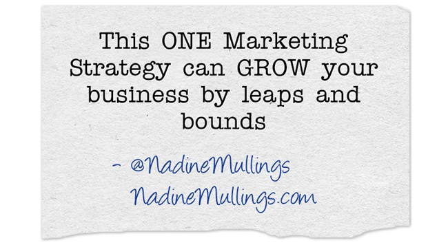This ONE Marketing Strategy can GROW your business by leaps and bounds