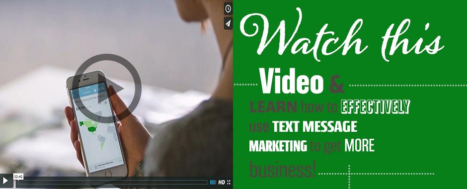 Banner #2 – Text Message Marketing