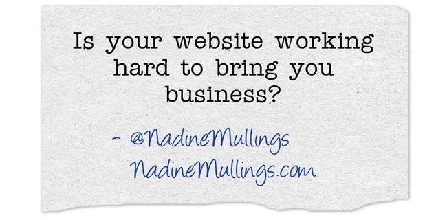 Is your website working hard to bring you business?