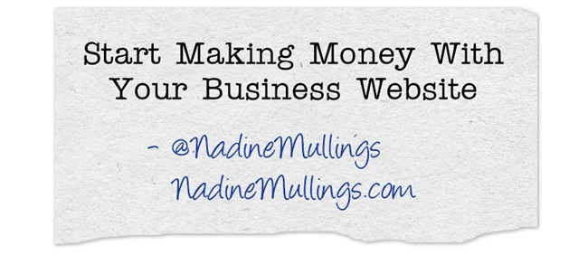 Start Making Money With Your Business Website
