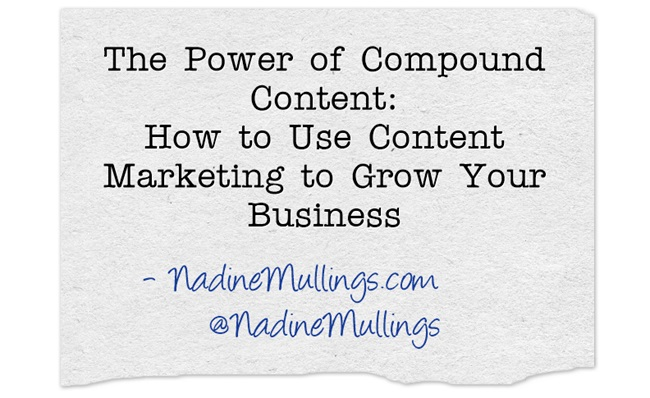 How to Use #ContentMarketing to Grow Your Business