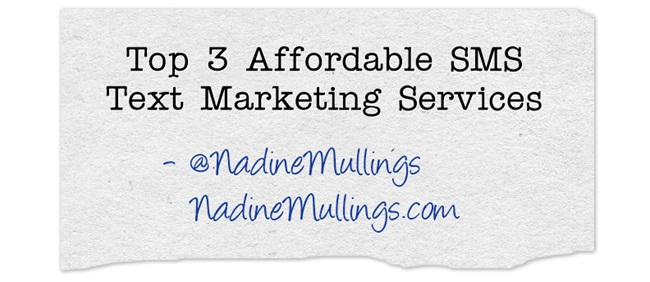 Top 3 Affordable SMS Text Marketing Services