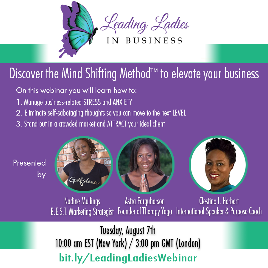Leading Ladies in Business Webinar