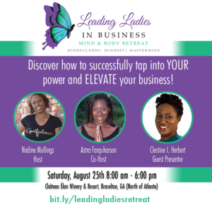 Leading Ladies in Business Retreat Flyer