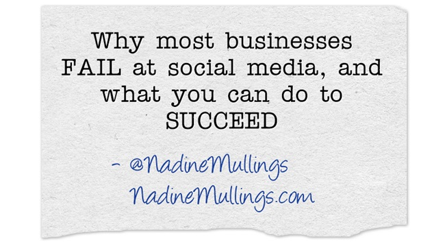 Why most businesses FAIL at social media, and what you can do to SUCCEED