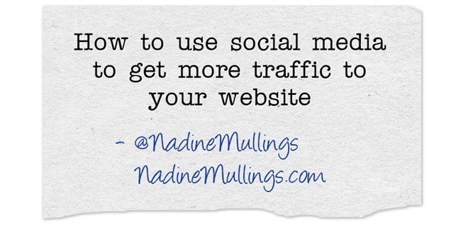 How to use social media to get more traffic to your website