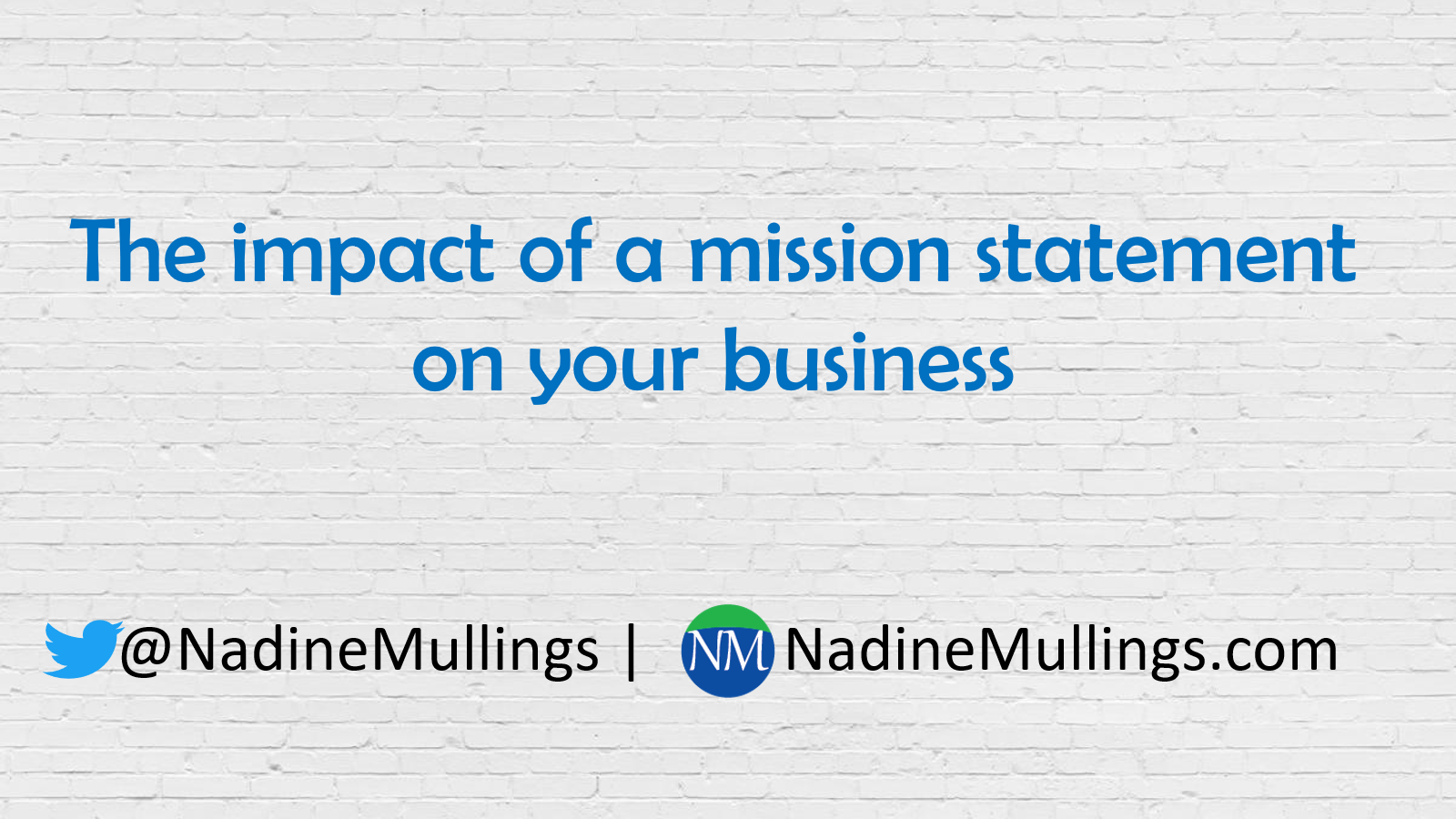 The impact of a mission statement on your business