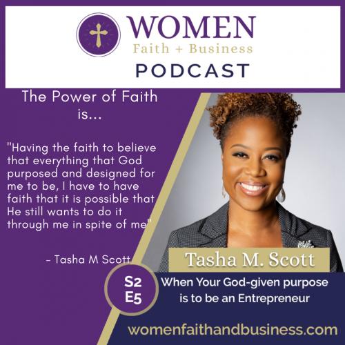 Tasha M Scott Podcast Quote